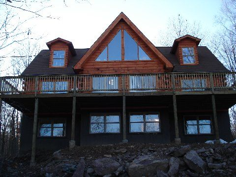 cabins rental pocono rentals the house mount cabin poconos luxury in for weekend of awesome vacation