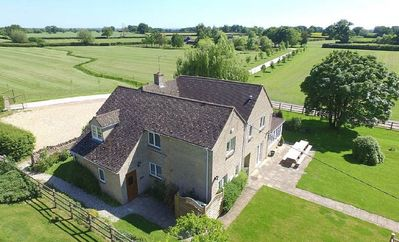 Photo for The Cotswold Manor Lodge, Exclusive Hot Tub, Games Barn, 70 acres of Parkland