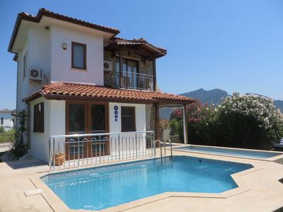 Photo for Villa Lily, 2 private pools, sleeps 6, 3 bed, 3 baths,free wi-fi, sat TV,A/C