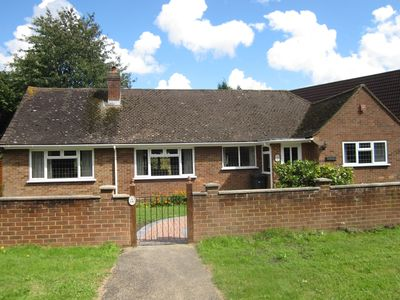 Photo for Stunning, refurbished chalet bungalow in Guildford (2min from town centre)