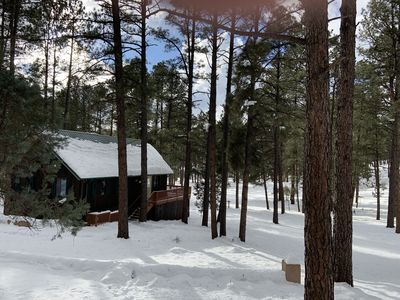 Photo for Pet Friendly Cabin with a great location and easy access to Everything Ruidoso!