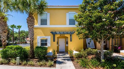 Photo for Stay at this captivating 3 bedroom townhouse in Emerald Island, close to Disney