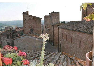 Photo for Medieval Tower House With Large Garden  In The Heart Of Tuscany