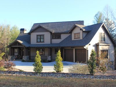 Photo for Golfers Delight: Rustic, Elegant And Inviting Home In Keowee Vineyards