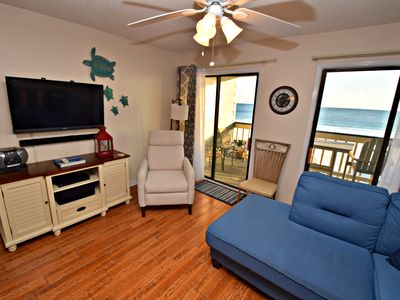 Photo for Regatta 201B - Amazing location with a great Gulf front view! Come spend your Fall Break with us!