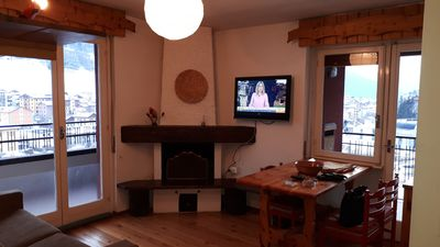 Photo for San Pietro Aprica Bright Two-room apartment with panoramic view and garage