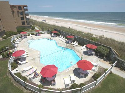 Photo for Stunning Oceanfront condo with combined ocean and outdoor pool view  - WiFi plus