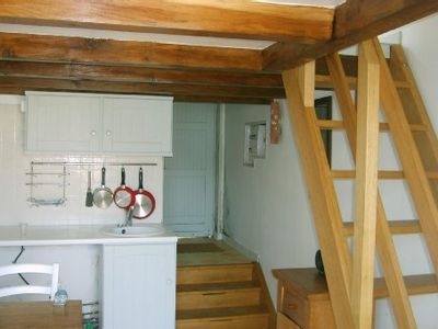 Photo for Small house in brittany in a quiet  place on island