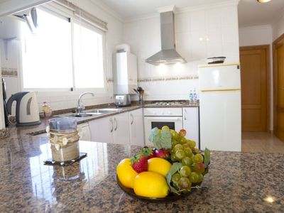 Photo for Vacation home Las Palmeras in Calpe/Calp - 6 persons, 3 bedrooms