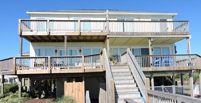 Photo for Oceanfront 1/2 duplex located in the heart of Emerald Isle, NC