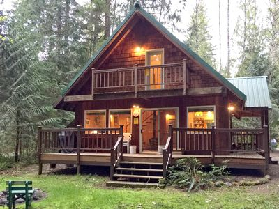 Photo for Mt. Baker Rim Cabin #32 - A cute, private, 2-story cabin!