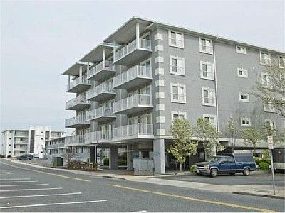 Street view of our condo which is in the middle on the top floor!