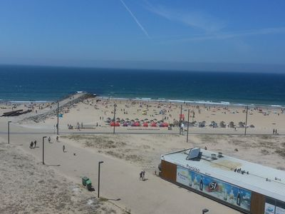 Photo for Magnificent sea views, large apartment suitable for families, on the beach