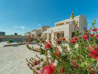 Photo for Beautiful villa in Privlaka with heated swimming pool