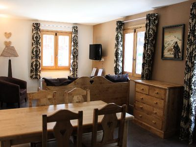Photo for Residence & Spa Vallorcine Mont Blanc ***** - 5 People 2 Room Cabin