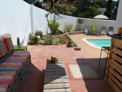 Photo for Villa l'Esplai, private garden and swimming pool, 600m from Montgo beach