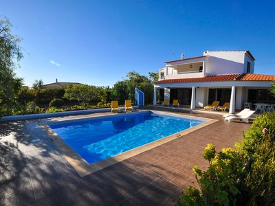Photo for Private Modern 4BR Villa w/ Tennis Court in Silves