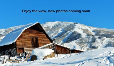 Photo for Ski Area & Valley Views  w Trails Steps Away -Pool/ HTs & Restaurants On Site-