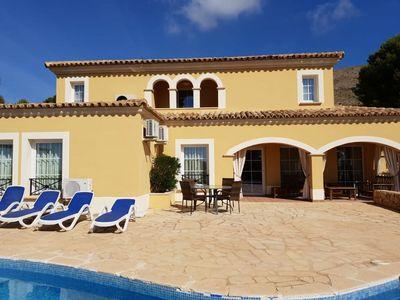 Photo for Villa Finestrat with private pool and all comfort for 6 people