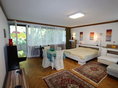 Photo for Spacious apartment within walking distance of the Wörthersee and the beautiful centre
