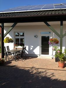 Photo for FW near Fuhlendorf south of the Bodden coast. 70sqm for 4 pers-idylische situation at the forest