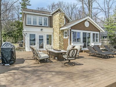 Photo for EXECUTIVE STYLE HOME ON LONG LAKE IN TRAVERSE CITY, MI