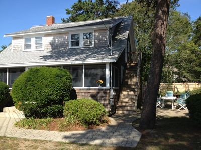 Great family rental w 4 bedrooms, 2 kitchens, 2 bathrooms, large screened porch