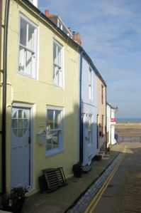 Photo for COSY HARBOURSIDE COTTAGE IN THE OLD FISHING VILLAGE OF STAITHES, close to beach.