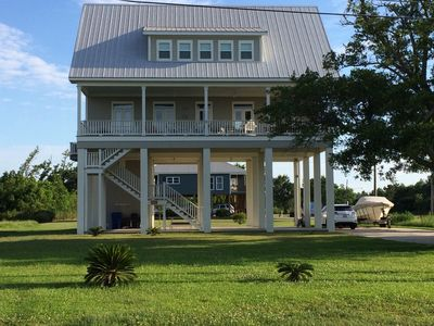 Photo for Beautiful, Two-story House On The Water With 150' Private Pier!