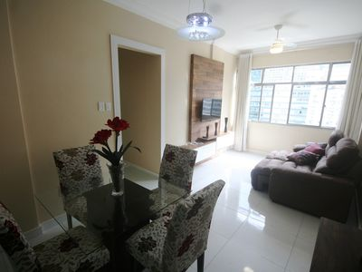 Photo for Two bedrooms, one suite, renovated, with garage, in Copacabana.