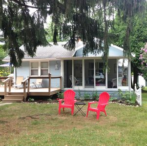 Photo for Port Huron - code word for HAPPINESS! Sandy Feet Cottage, steps to Lake Huron