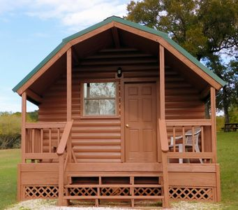 Photo for River Front Cabin on the Guadalupe River with full Resort Amenities.