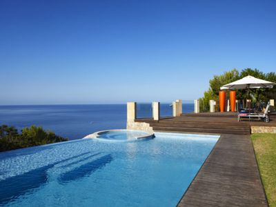 Photo for Luxury Architectural Design and Avant-garde Decor Villa few meter from the beach