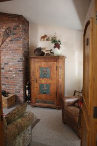 Welcome.... (view of armoire when first opening condo door