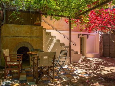 Photo for Lefkada Town Traditional House / Cozy Yard
