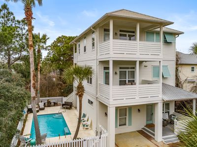 Photo for Closest to the Beach- 6 BED/ 5BTH - 30A/Private Heated Pool