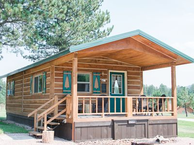 Photo for The Cabin At Dakota Dream B&B.  Quiet, Secluded, Close To Downtown Custer