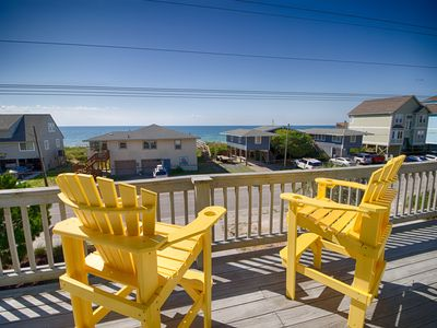 Photo for Affordable 4 BR with elevator-  across the street from your private beach access