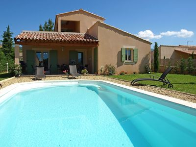 Photo for Lovely apartment for 8 people with private pool, WIFI, TV, balcony and parking