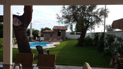 Photo for Seaside villa with private pool and large garden with outdoor shower