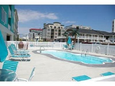 Photo for 4 Bedroom Condo Just Steps To The Beach & 1 Floor Down To The Pool