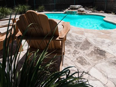 Photo for Hill Country Getaway w/ Pool. Pets Welcome.