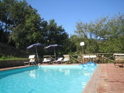Photo for The Main House  - Farmhouse villa in Tuscany with private pool in 17 acres