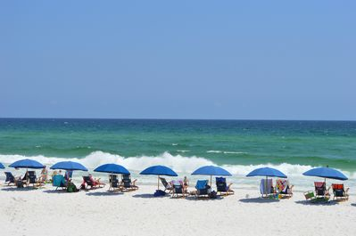 Beach service, 2 chairs & 1 umbrella,  provided March 1-October 31