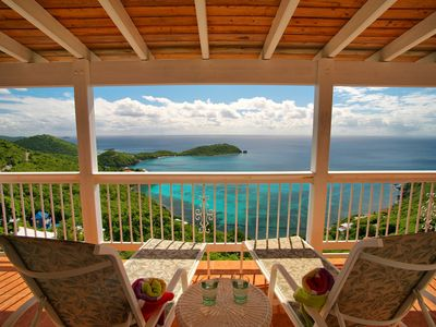 Photo for Fabulous home - overlooking dazzling Rendezvous Bay