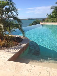Photo for The Long House - Luxurious ocean front villa with stunning views