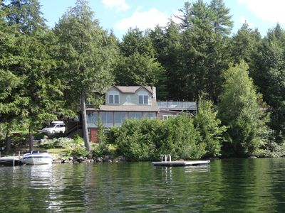 Beautiful Lovell Lake Home w/ dock and spectacular sunsets
