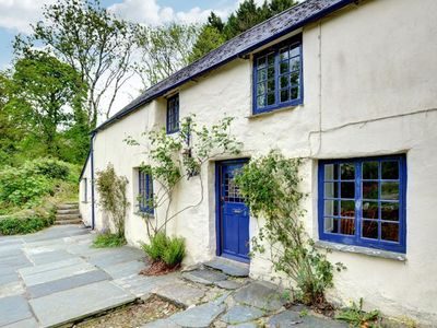 Photo for Beautifully situated cottage in a valley near the picturesque River Fowey