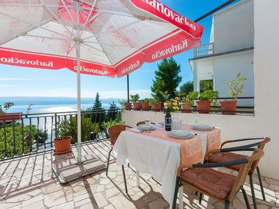 Photo for Apartment Franka  A2(2+2)  - Stanici, Riviera Omis, Croatia