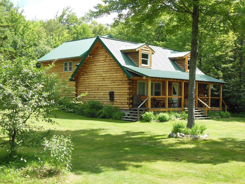 unique log cabin in a private white mountain homeaway carroll